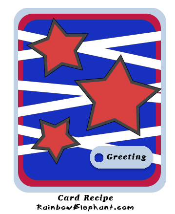 Star Greeting Card Recipe