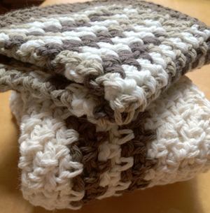 Crochet Cotton wash cloths