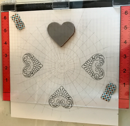 Stamping with Misti on Grid
