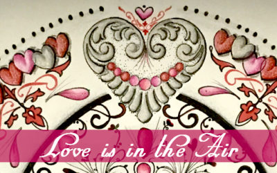 Valentine Décor Series – A Sweet Mantel